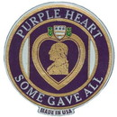 Eagle Emblems MG1202 Magnet-Purple Heart (3