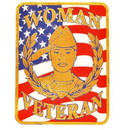 Eagle Emblems MG1238 Magnet-Woman Veteran (3
