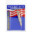 Eagle Emblems NC9464 Necklace-Bullet, 223 (Nickel)