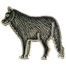 Eagle Emblems P00212 Pin-Wolf (1