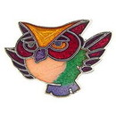 Eagle Emblems P00215 Pin-Bird, Owl, Comical (1
