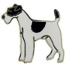 Eagle Emblems P00343 Pin-Dog, Fox, Terrier (1