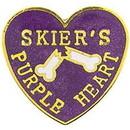 Eagle Emblems P00430 Pin-Skier Pr Heart (1