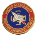 Eagle Emblems P00438 Pin-Usn, School, Fighter Weapons (1
