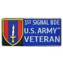 Eagle Emblems P00496 Pin-Viet, Bdg, 001St Sig.Bg 1966-1972 (1-1/8