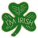 Eagle Emblems P00629 Pin-Clover, I'M Irish (1