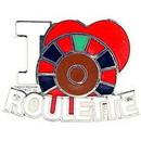 Eagle Emblems P00671 Pin-Game, Roulette, I Heart (1
