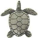 Eagle Emblems P00695 Pin-Turtle, Pewter (1