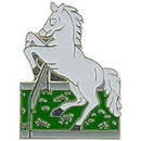 Eagle Emblems P00709 Pin-Horse, Rearing (1
