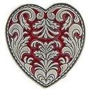 Eagle Emblems P00821 Pin-Hol, Heart, Single (1