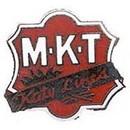 Eagle Emblems P01023 Pin-Rr, M-K-T Katy Lines (1