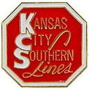 Eagle Emblems P01042 Pin-Rr, Kansas City Southn (1