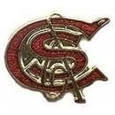 Eagle Emblems P01044 Pin-Rr, Colorado & Southrn (1