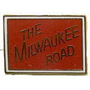 Eagle Emblems P01090 Pin-Rr, Milwaukee Road (1