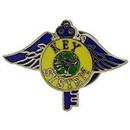 Eagle Emblems P01162 Pin-Rr, Key System (1