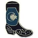 Eagle Emblems P01659 Pin-Cowboy, Boot, Rght (1