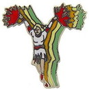 Eagle Emblems P01801 Pin-Cheerleading (1