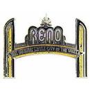 Eagle Emblems P01975 Pin-Game, Reno, New Arch (1