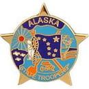 Eagle Emblems P02502 Pin-Pol, Patch, Alaska (1
