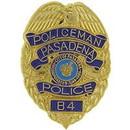 Eagle Emblems P02754 Pin-Pol, Bdg, Ca, Pasadena (1