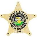 Eagle Emblems P02837 Pin-Pol, Bdg, Ca, Cook Cty (1