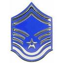 Eagle Emblems P03111 Rank-Usaf, E8, Sr.Msg (Lrg) (1-9/16