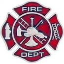 Eagle Emblems P05248 Pin-Fire Dept, Pwt (1