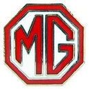 Eagle Emblems P05312 Pin-Car, Mg, Logo, Red (1