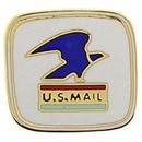 Eagle Emblems P05392 Pin-Org, Us Mail (1