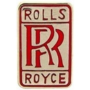 Eagle Emblems P05447 Pin-Car, Rolls Royce, Logo (1