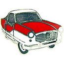 Eagle Emblems P05807 Pin-Car, Metropolitan, Red (1