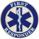 Eagle Emblems P06213 Pin-Emc, 1St Responder (1
