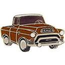Eagle Emblems P06665 Pin-Truck, Gmc, '55 Brown (1