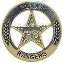 Eagle Emblems P06783 Pin-Pol, Bdg, Tx, Ranger (Gld) (1