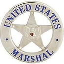 Eagle Emblems P06792 Pin-Bdg, Marshal, U.S. (1