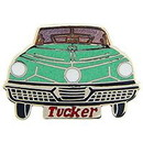 Eagle Emblems P06820 Pin-Car, Tucker, Turquoise (1