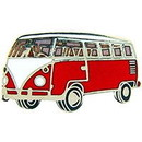 Eagle Emblems P06831 Pin-Car, Vw, Microbus, Red (1