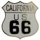 Eagle Emblems P06942 Pin-Route 66, Ca (1
