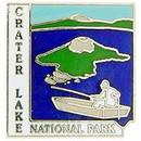 Eagle Emblems P09031 Pin-Nat.Park, Crater Lake (1