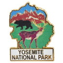 Eagle Emblems P09079 Pin-Nat.Park, Yosemite, Map (1