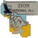 Eagle Emblems P09081 Pin-Nat.Park, Zion (1