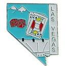 Eagle Emblems P09088 Pin-Nv, Las Vegas (Map) (1