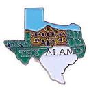 Eagle Emblems P09092 Pin-Texas, The Alamo (Map) (1