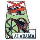 Eagle Emblems P09201 Pin-Alabama (Map) (1