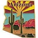 Eagle Emblems P09203 Pin-Arizona (Map) (1