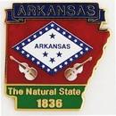 Eagle Emblems P09204 Pin-Arkansas (Map) (1