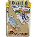 Eagle Emblems P09213 Pin-Idaho (Map) (1