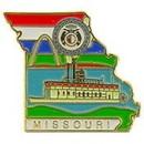 Eagle Emblems P09226 Pin-Missouri (Map) (1