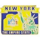 Eagle Emblems P09233 Pin-New York (Map) (1