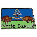 Eagle Emblems P09235 Pin-North Dakota (Map) (1